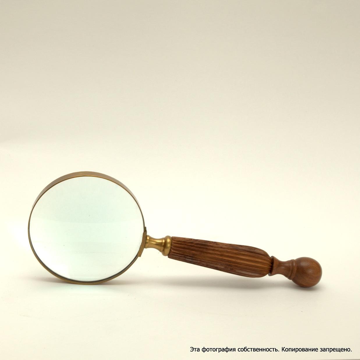 Как сделать увеличительное стекло фото